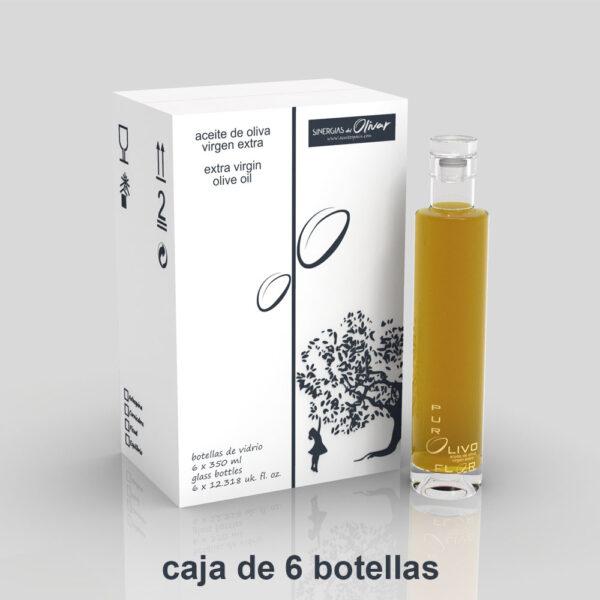 Caja de 6 botellas de AOVE EQUILIBRIO 0,35 litros