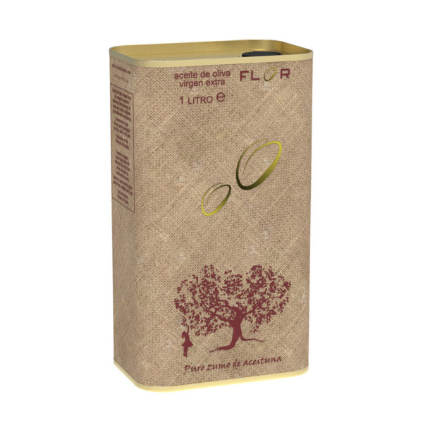 Can Extra Virgin Olive Oil EVOO CORNICABRA 1 Liter ACK