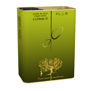 Can of Extra Virgin Olive Oil EVOO EQUILIBRIO 2 Liters Mod GRASS