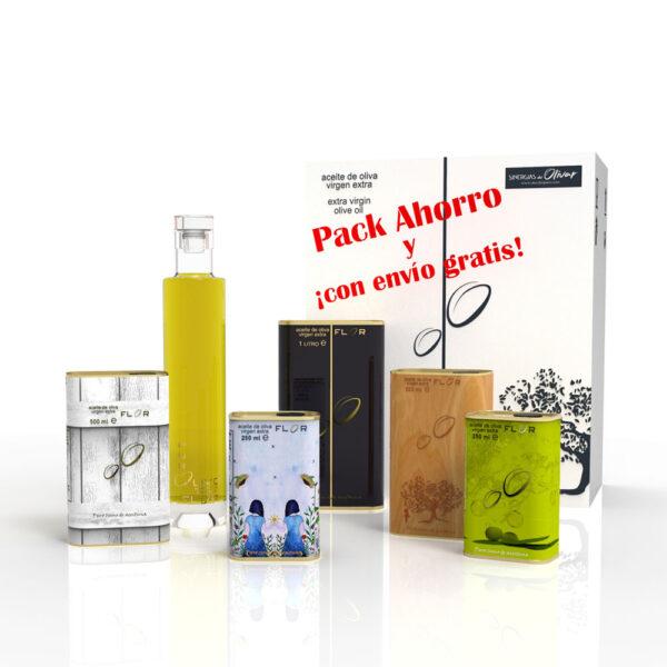Pack aceite de oliva Equilibrio-Picual