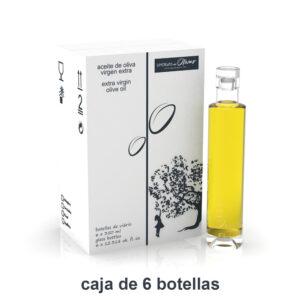 Caja de 6 botellas de AOVE ARBEQUINA 350ml